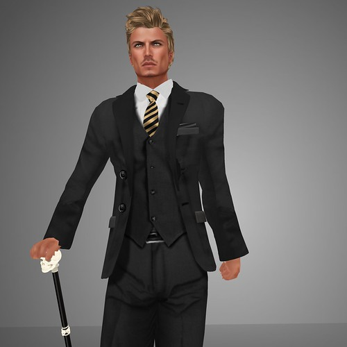 HOORENBEEK Classic suit black by mimi.juneau *Mimi's Choice*
