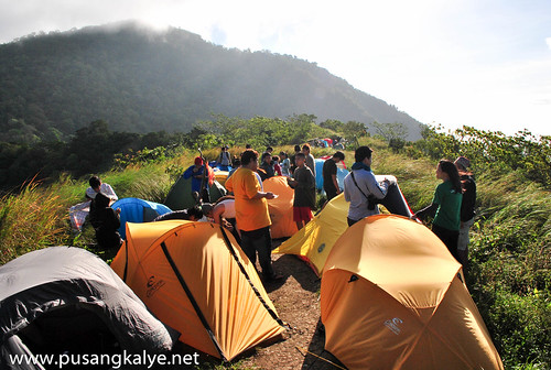 camp site_mt.Maculot