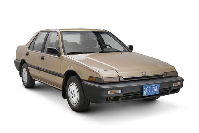 1989 Honda Accord Sedan   Description: Honda introduced ...