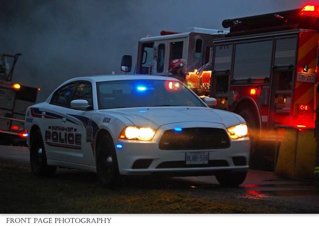 C-K Police - Supervisor 602 - C-K Fire - 14-11, 18795 Erieau Rd. 3rd Alarm