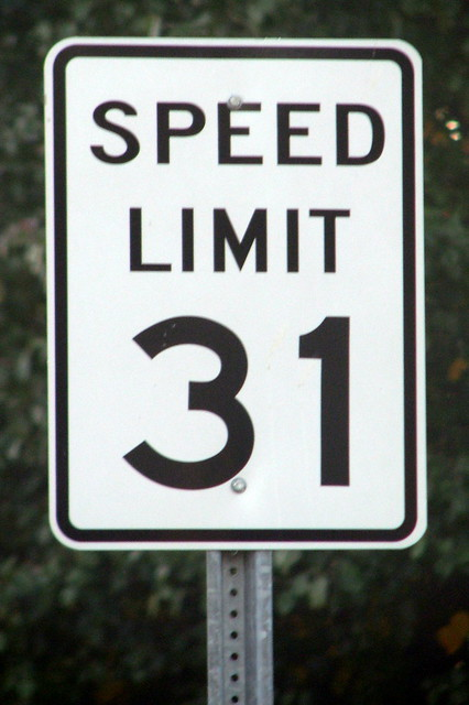 Trenton TN's 31 MPH Speed Limit