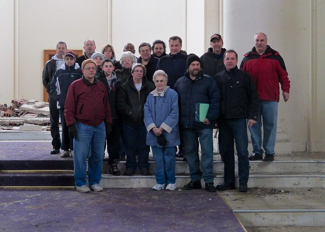 St. Matthew's Church - tour group