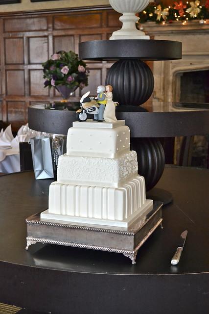 ivory motorcycle wedding cake flickr photo sharing. Black Bedroom Furniture Sets. Home Design Ideas