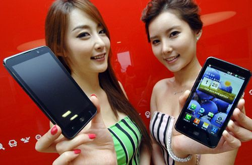 LG Optimus LTE records one million in sales