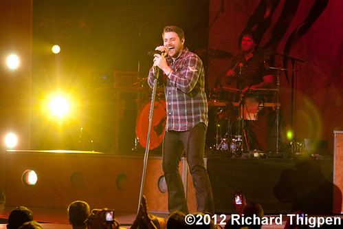 Chris Young - 01-25-12 - Bojangles Coliseum, Charlotte, NC
