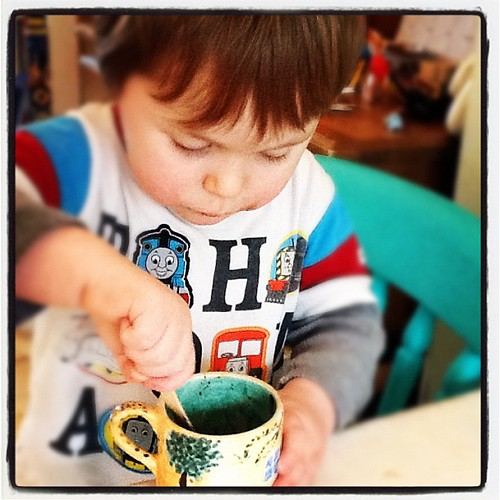 #mydayinpictures 2.30pm post nursery hot chocolate