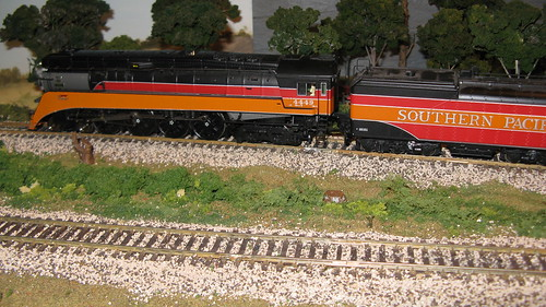 "Broadway Limited Imports H.O Scale Southern Pacific GS 4 ""Daylight"" 4-8-4 Northern type steam locomotive. by Eddie from Chicago"
