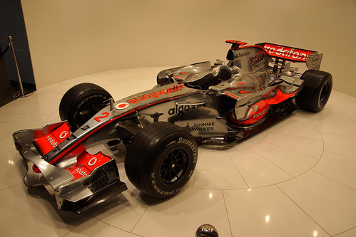 McLaren MP4-22, Hamilton's car in 2007