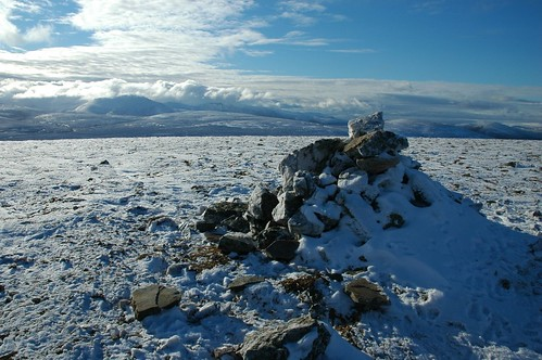Southern Cairngorms from Geal Charn