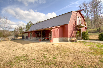 Barn outside 3