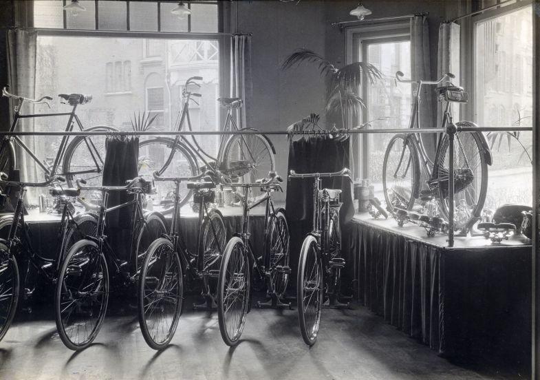 Fietsenwinkel in Haarlem / Bike shop