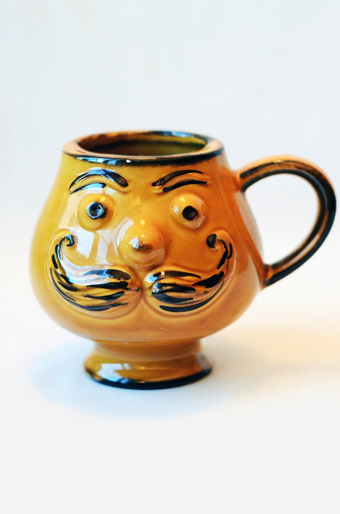 Man with Mustache Mug