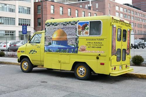 Falafel Vendor Truck