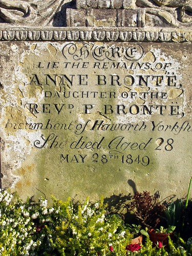 Scarborough Anne Bronte grave