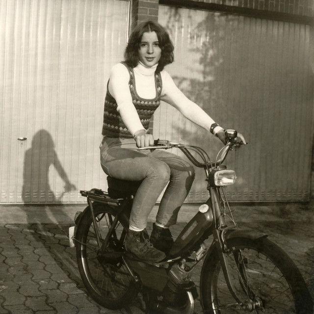 Teenager on Motorbike