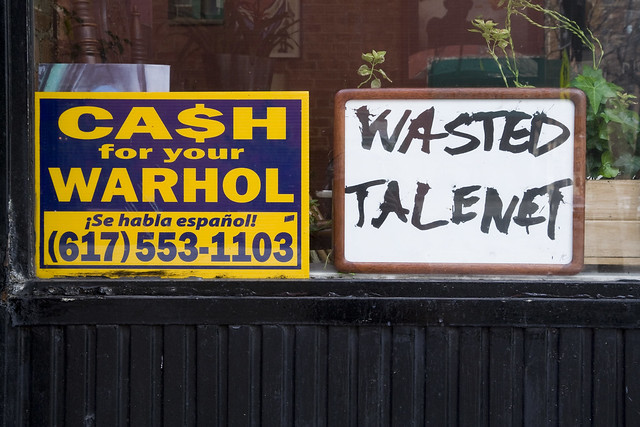 365.168 Wasted Talent