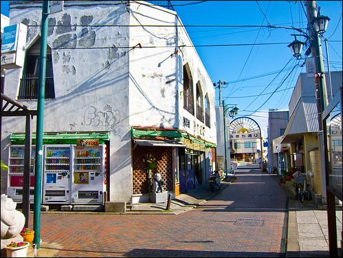 Calle principal de Kisarazu