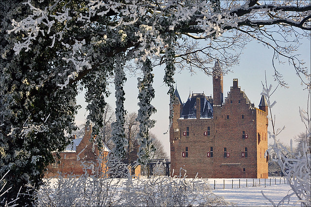 Wintertime at Castle Doornenburg