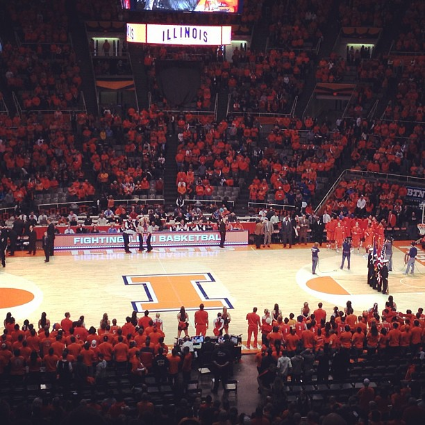 36/365+1 Game One Of Two  #illini #basketball