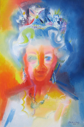 HM Queen Elizabeth II - Diamond Jubilee Tribute 2012 by Stephen B Whatley