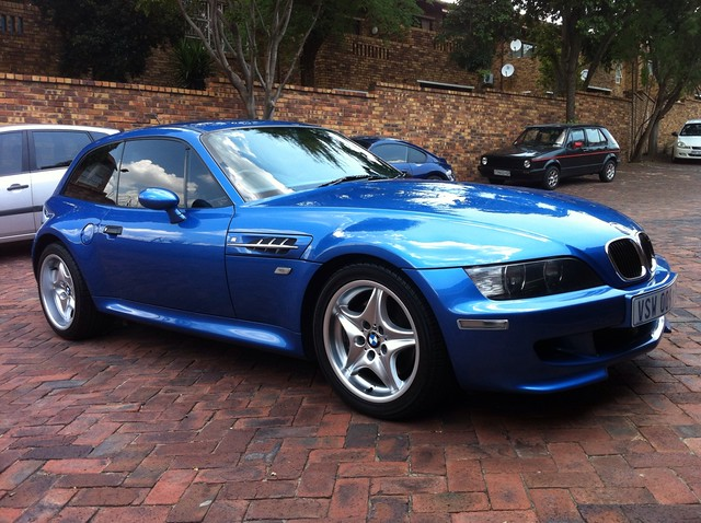 1999 M Coupe | Estoril Blue | Estoril/Black | Sunroof Delete | South Africa