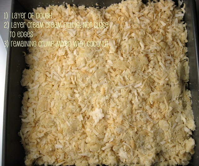 toasted coconut cream cheese bars 2