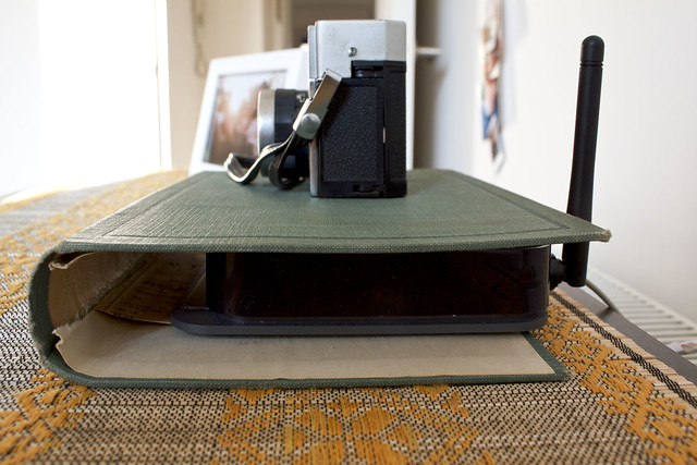 router book cover diy