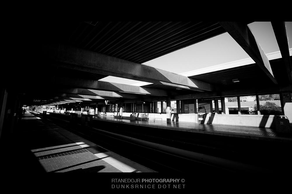 Station B&W.