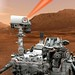Curiosity rover zapping rocks on Mars