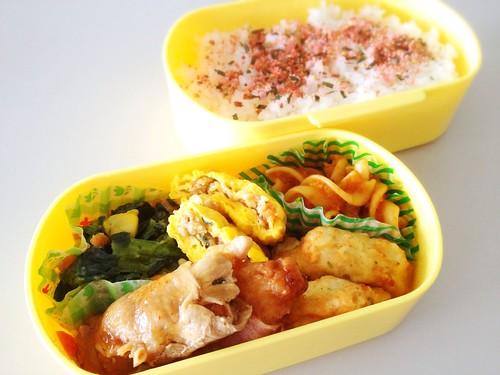 今日のお弁当 No.271 – 明太子