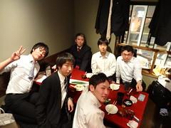 20140328化学会うちあげ・送別会