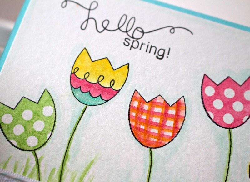 Hello Spring Card 2