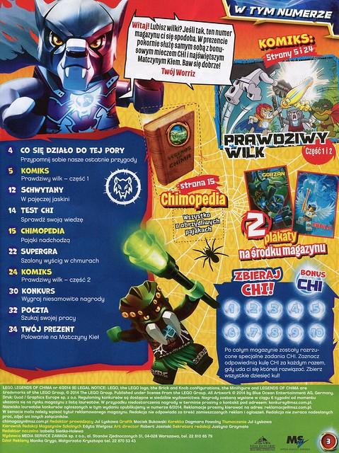 LEGO Legends of Chima Oficjalny Magazyn 2014-04 02