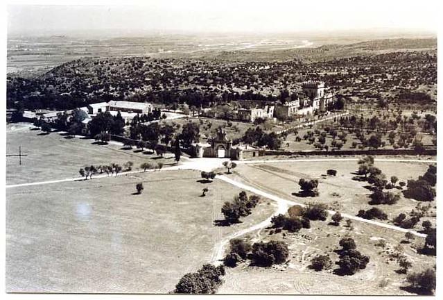 Vista aérea del Palacio de la Sisla en 1972 (c) Archivo Municipal 02 - FD-05-52-Año 1972
