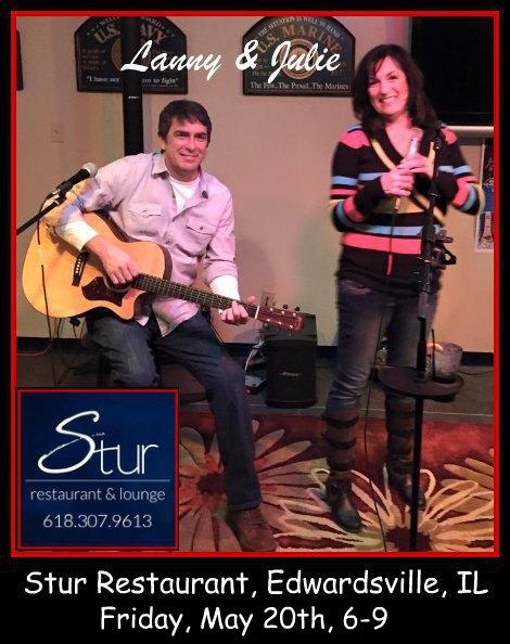 Lanny & Julie 5-20-16