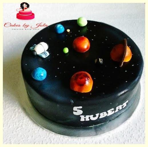 Cake Cosmos by Jolanta Kozakiewicz