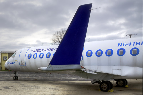 Independence Air Bombardier CRJ-200ER (N641BR)