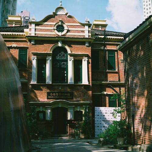 過期菲林用來拍舊建築就最合適的了