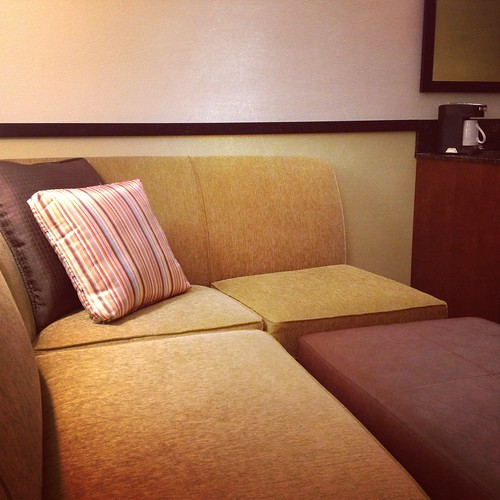 couch area Hyatt Place hotel