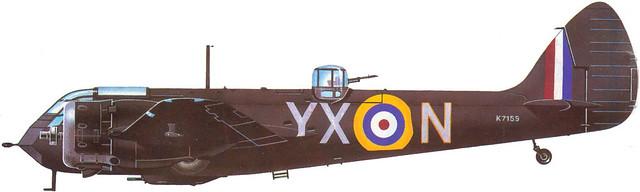 Bristol 142M Blenheim RAF
