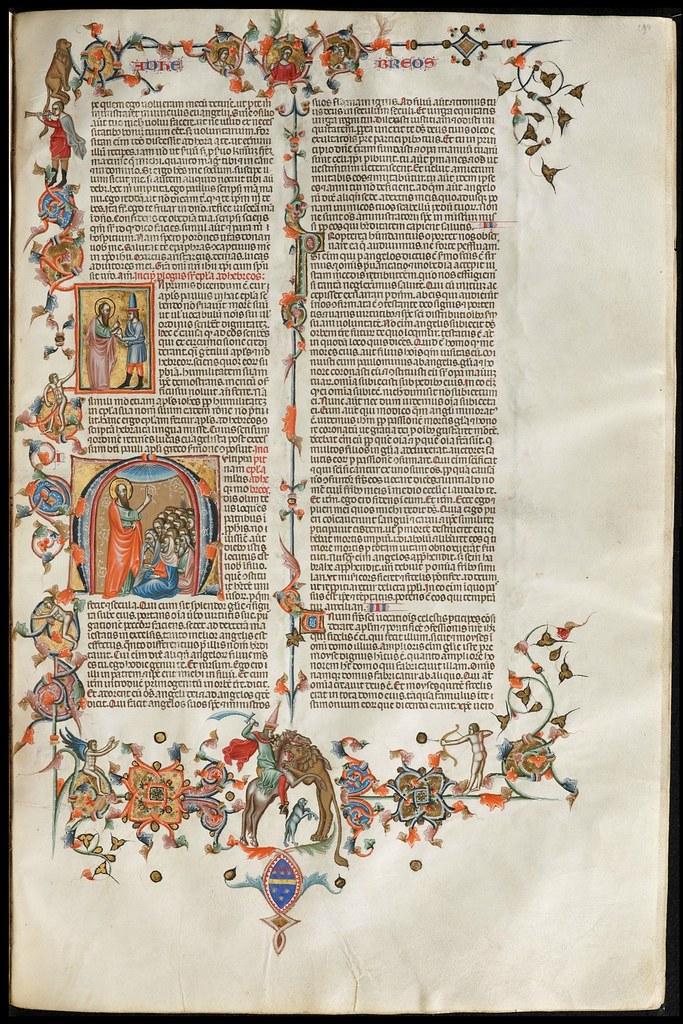 14th c. Sicilian manuscript page