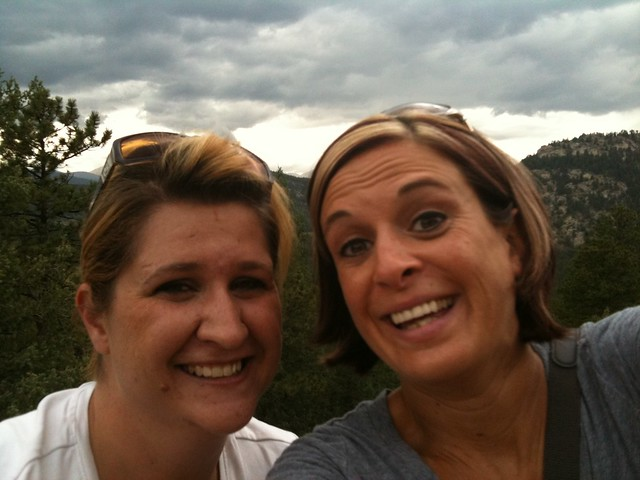 Me and Stacey Hiking