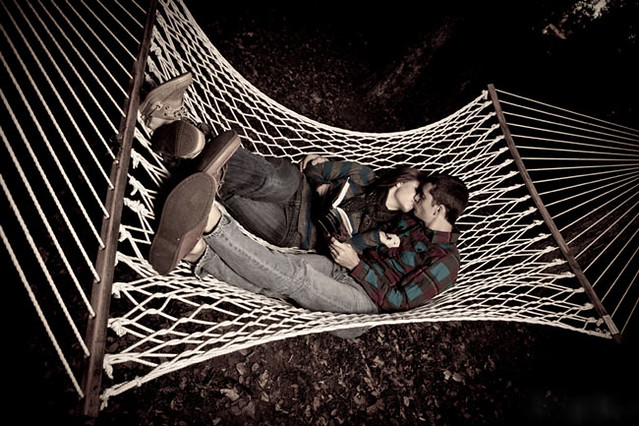 Hammock Kiss - by Bryan Fittin