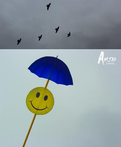 Rain by Amjad Almoqbel