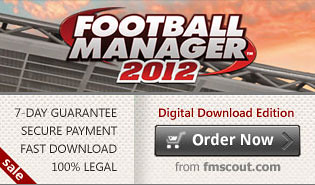 Download FM 2012 as cheap as £26.99