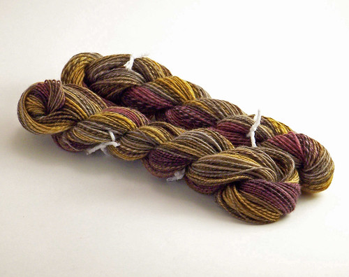 Southern Cross Fibre - Polwarth - Autumn Leaves - first 2 3-plies-washed
