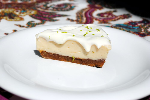 Key Lime Pie with Pecan-Gingersnap Crust (Gluten Free!)