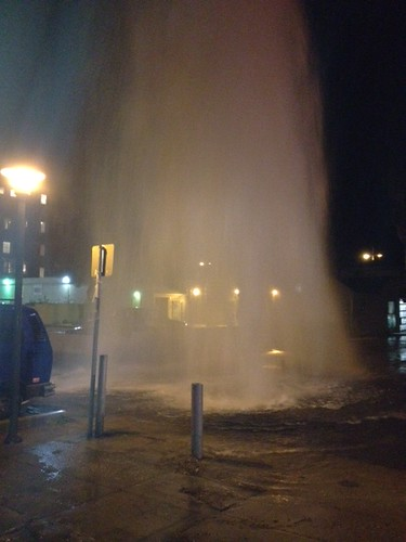 Fire Hydrant Breaks in Venice