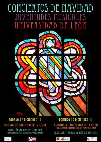 CONCIERTOS NAVIDAD 2011 - JUVENTUDES MUSICALES-UNIVERSIDAD DE LEÓN by juanluisgx