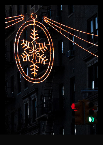Lights on 181st Street